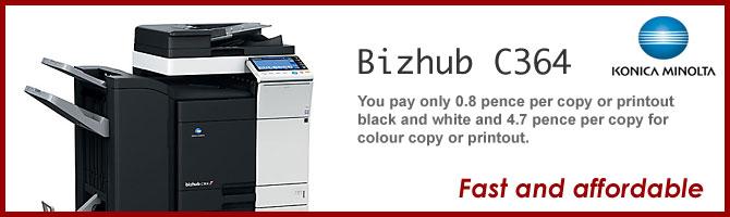 Bizhub C364