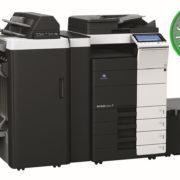Colour Copier Lease Rental Offer Konica Minolta Bizhub C554e FS 535 ZU 606 PI 505 PC 410 LU 204 Left