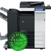 Colour Copier Lease Rental Offer Konica Minolta Bizhub C284 DF 701 FS 534 SD 511 PC 210 WT 506 AU 102 Front