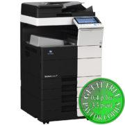 Colour Copier Lease Rental Offer Konica Minolta Bizhub C454 DF 701 OT 506 PC 210 Left