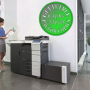 Colour Copier Lease Rental Offer Konica Minolta Bizhub C454 Office 365