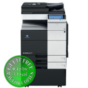 Colour Copier Lease Rental Offer Konica Minolta Bizhub C654