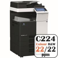 Colour Copier Lease Rental Offer Konica Minolta Bizhub C224 22 ppm