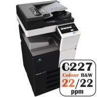 Colour Copier Lease Rental Offer Konica Minolta Bizhub C227 22 ppm