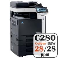 Colour Copier Lease Rental Offer Konica Minolta Bizhub C280 28 ppm