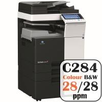 Colour Copier Lease Rental Offer Konica Minolta Bizhub C284 28 ppm