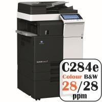 Colour Copier Lease Rental Offer Konica Minolta Bizhub C284e 28 ppm