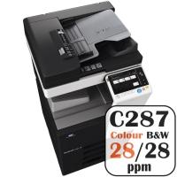 Colour Copier Lease Rental Offer Konica Minolta Bizhub C287 28 ppm