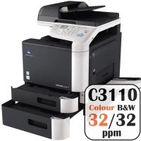 Colour Copier Lease Rental Offer Konica Minolta Bizhub C3110 32 ppm