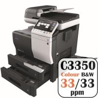 Colour Copier Lease Rental Offer Konica Minolta Bizhub C3350 33 ppm