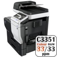 Colour Copier Lease Rental Offer Konica Minolta Bizhub C3351 33 ppm