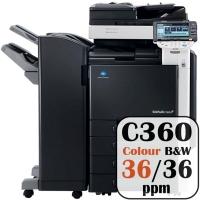 Colour Copier Lease Rental Offer Konica Minolta Bizhub C360 36 ppm