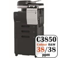 Colour Copier Lease Rental Offer Konica Minolta Bizhub C3850 38 ppm