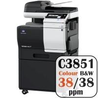 Colour Copier Lease Rental Offer Konica Minolta Bizhub C3851 38 ppm