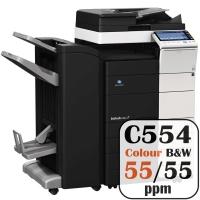 Colour Copier Lease Rental Offer Konica Minolta Bizhub C554 55 ppm