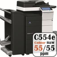 Colour Copier Lease Rental Offer Konica Minolta Bizhub C554e 55 ppm