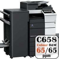 Colour Copier Lease Rental Offer Konica Minolta Bizhub C658 65 ppm