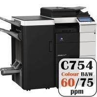 Colour Copier Lease Rental Offer Konica Minolta Bizhub C754 75 ppm