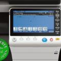 Colour Copier Lease Rental Offer Konica Minolta Bizhub C224e Panel Front