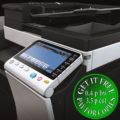 Colour Copier Lease Rental Offer Konica Minolta Bizhub C224e Panel closeup sideview new