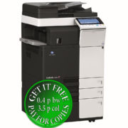 Colour Copier Lease Rental Offer Konica Minolta Bizhub C284e DF 624 FS 533 PC 410 Left