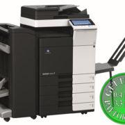Colour Copier Lease Rental Offer Konica Minolta Bizhub C284e DF 701 FS 534 SD 511 PC 210 BT C1 Left