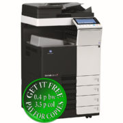 Colour Copier Lease Rental Offer Konica Minolta Bizhub C284e DF-701 OT-506 PC-210