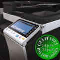 Colour Copier Lease Rental Offer Konica Minolta Bizhub C284e Panel Closeup Sideview