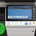 Colour Copier Lease Rental Offer Konica Minolta Bizhub C284e Panel Front