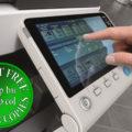 Colour Copier Lease Rental Offer Konica Minolta Bizhub C284e Panel Side Touch Control