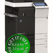 Colour Copier Lease Rental Offer Konica Minolta Bizhub C364e DF 624 FS 533 PC 410 Left