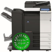 Colour Copier Lease Rental Offer Konica Minolta Bizhub C364e DF 701 FS 534 SD 511 PC 210 Front