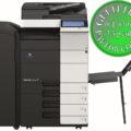 Colour Copier Lease Rental Offer Konica Minolta Bizhub C454e DF 701 FS 534 SD 511 PC 210 BT C1 Left