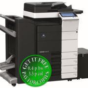 Colour Copier Lease Rental Offer Konica Minolta Bizhub C454e DF 701 FS 534 SD 511 PC 210 LU 301 WT 506 Left