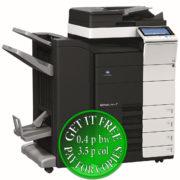 Colour Copier Lease Rental Offer Konica Minolta Bizhub C454e DF 701 FS 534 SD 511 PC 210 Left