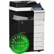 Colour Copier Lease Rental Offer Konica Minolta Bizhub C454e DF 701 OT 506 PC 210 Left