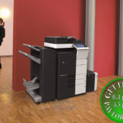 Colour Copier Lease Rental Offer Konica Minolta Bizhub C454e Office 365