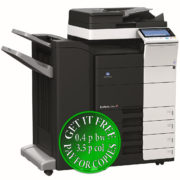 Colour Copier Lease Rental Offer Konica Minolta Bizhub C554e FS 534 PC 410 Left