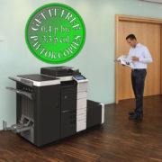 Colour Copier Lease Rental Offer Konica Minolta Bizhub C554e Office 365