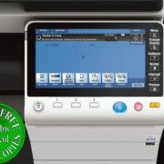 Colour Copier Lease Rental Offer Konica Minolta Bizhub C554e Panel Front