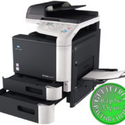 Colour Copier Lease Rental Offer Konica Minolta Bizhub C3110 Open Paper Trays Bypass