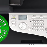 Colour Copier Lease Rental Offer Konica Minolta Bizhub C3110 Panel