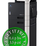 Colour Copier Lease Rental Offer Konica Minolta Bizhub C3110 Right Mainbody PF P09 Paper Tray Copier Desk