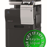 Colour Copier Lease Rental Offer Konica Minolta Bizhub C3350 Mainbody PF P13 DK P03 Left