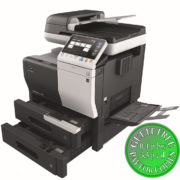 Colour Copier Lease Rental Offer Konica Minolta Bizhub C3350 Open Paper Trays Bypass