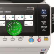 Colour Copier Lease Rental Offer Konica Minolta Bizhub C3350 Panel Front