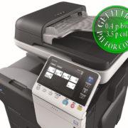 Colour Copier Lease Rental Offer Konica Minolta Bizhub C3350 SideView