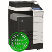 Colour Copier Lease Rental Offer Konica Minolta Bizhub C754e Left