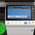 Colour Copier Lease Rental Offer Konica Minolta Bizhub C754e Panel Front