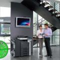 Colour Copier Lease Rental Offer Konica Minolta Bizhub C220 FS-527 SD-509 DF-617 Office 365